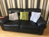 we have a 2 piece Black Leather sofa x2 needing a new home.