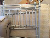 Free single bed, mattress and chest of drawers