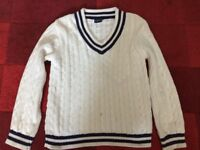 Cricket jumper, age 7-8