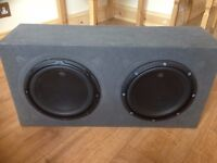 Twin JL W3 10inch subwoofer.