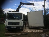 LORRY HIAB CRANE TRANSPORT HIRE