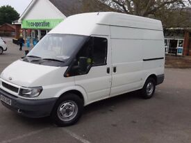 Ford Transit high top diesel van Very low millage