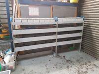 Tool storage / van rack built for a Peugeot boxer