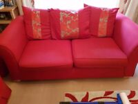 3 seater scatter back cushion sofa - DFS