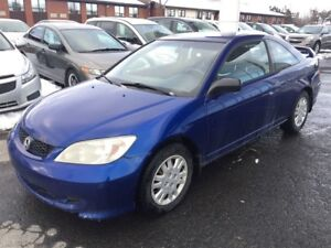 2004 Honda Civic Coupe LX *AILERON, AIR CLIMATISE, CRUISE CONTRO