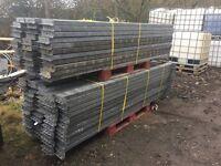 Pallet racking 4 metre x 2.7metre galvanised heavy duty