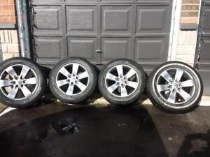 LIKE BRAND NEW FORD F150 20 INCH ALLOY WHEEL SET OF FOUR. NO SENSORS.