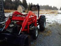 Massey 135 Tractor with Loader