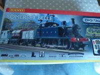 Hornby R1125 Somerset Belle DCC Digital Train Set OO Gauge