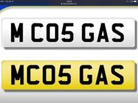 Plumbing / gas / plumber cherished private number plate