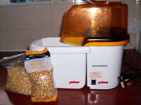 Prima Popcorn Maker Healthy Fat Free Way to Make Popcorn. Boxed