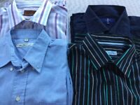 Men's good quality shirts for sale- very good condition size 16-17 neck