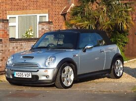 Mini Cooper S Convertible, New Clutch, New Pirelli Tyres Full Service History