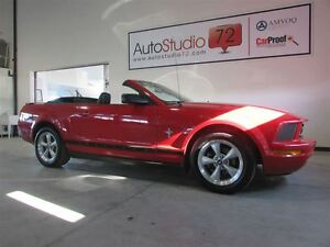 2007 Ford Mustang V6 CONVERTIBLE **CUIR** 5 VITESSES