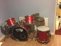 Black mamba drum set