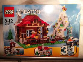 LEGO 31025 Mountain Hut BNIB