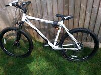 ** Diamondback Outlook Dd Mtb in White For Sale**Very Nice Bike**Diskbrakes**Specialized**Carrera