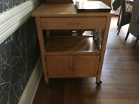 Kitchen island/butchers block