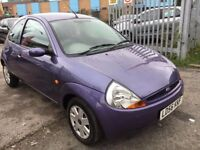 FORD KA 1.3 70 STYLE PETROL MANUAL 1 OWNER 2006 SERVICE HISTORY LOW MILEAGE 49000 MILES