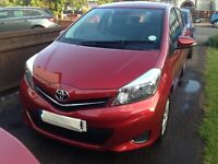 2012 Reg, Toyota FSH, MOT to 27/6/17. Rear camera, air con, alloys, good condition, 2nd owner