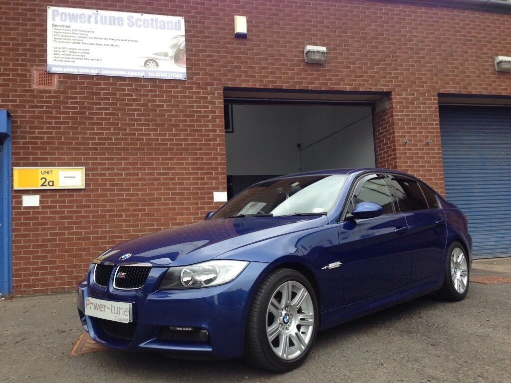 BMW 320d Msport 2007 LeMans blue