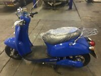 2011 HYBRID MOPED, LUYUAN LEV 007, 40 MILES-64 KM, ***LOOKS AND DRIVES LIKE NEW***