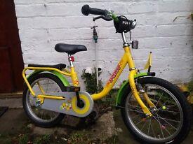 Puky Z6 unisex kids bike, 16 inch, stabilizers included