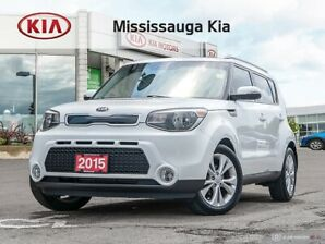 2015 Kia Soul EX+ ACCIDENT FREE , ONE OWNER ,  BACK UP