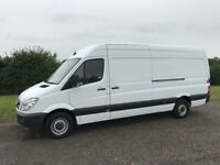 MERCEDES SPRINTER 313 CDI LWB DIESEL 2013 63-REG FULL SERVICE HISTORY *EURO 5* DRIVES EXCELLENT