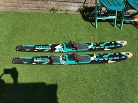 Veteka high performance combo water skis