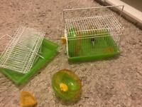 2x small cage for baby hamster, mouse