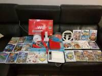 Boxed Nintendo Wii Bundle with UDraw Game Tablet and 26 games and accessories