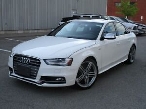 2013 Audi S4 3.0T (S tronic) NAVIGATION RED INTERIOR