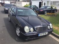 Mercedes Benz e240 auto 7 seat touring estate 2000 x reg mot may 2019 taxed