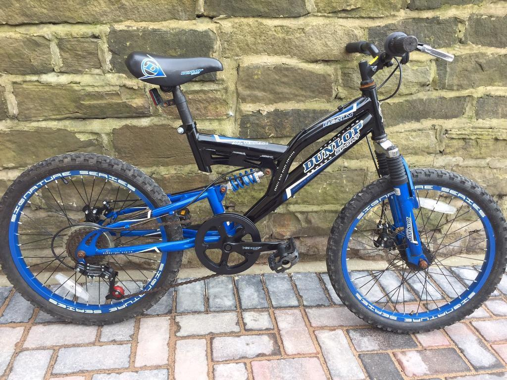 16 inch kids mountain bikein Bradford, West YorkshireGumtree - 16 inch Dunlop mountain bike Dual disc brakes Dual suspension Call only for more info