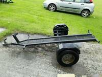 Ex RAC motorcycle Trailer