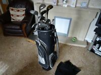 Left Hand Golf Clubs & Bag etc