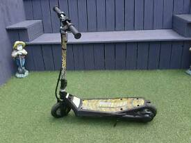 Child's electric scooter as new