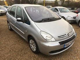 2007/57 CITROEN PICASSO 1.6 HDI DESIRE SILVER ONE PREVIOUS OWNER