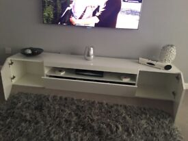 Wayfair white gloss tv cabinet
