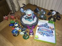 Skylanders Giants game portal and 9 figures