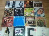100 + vinyl LP's real kids , queen dr john nick lowe comsat angels kate bush jimi hendrix