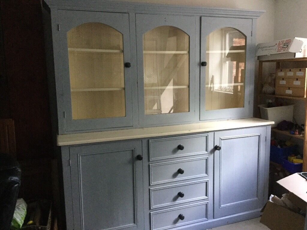 Kitchen Dining Room Dresserpainted Pinelarge Needs Tlc