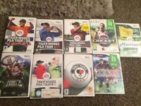 Video games for wii. Nintendo ds and pc