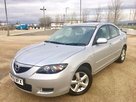2009 MAZDA 3 DIESEL ++ ALLOY WHEELS ++ REMOTE LOCKING ++ ELECTRIC WINDOWS ++ CD ++ NOVEMBER MOT.