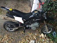 Mini pit bike 50cc