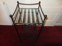 XMAS iron table- Hall - beside /telephone /patio /garden - heavy solid metal