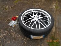 "Set of 4 Brand New 19"" Multi fit Alloys & new Tyres bought for VW Passat"