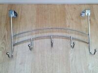 Chrome Over Door Hooks - 3 available