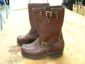 Dayton's Size 9 D Engineer Boots. Brown, New